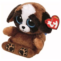 Ty Peek-a-Boo Puppy phone holder-puppies, 15 cm