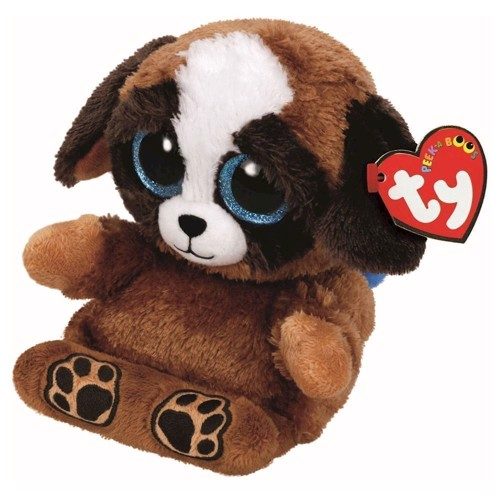 Image of   Ty Peek-a-Boo Puppy phone holder-puppies, 15 cm