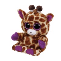 Ty Peek-a-Boo Giraffe phone holder-Jesse, 15 cm