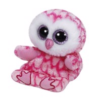 Ty Peek-a-Boo Owl phone holder-Milly, 15 cm