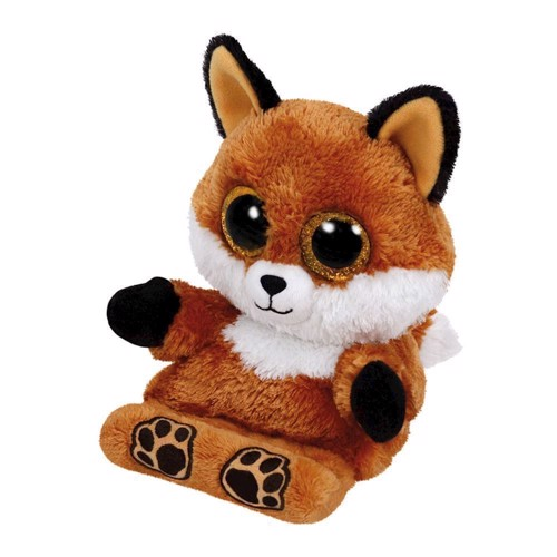 Image of   Ty Peek-a-Boo Fox phone holder-Sly, 15 cm