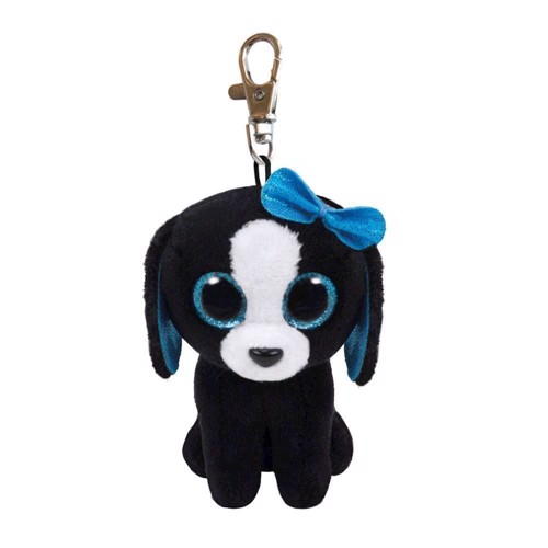 Image of   Ty Beanie Boo Keychain Dog-Tracey
