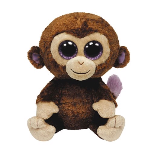 Image of   Ty Beanie Boo Hug Monkey-Coconut