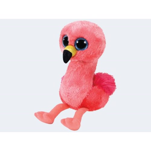 Image of   Ty bamse Flamingo 15cm Gilda