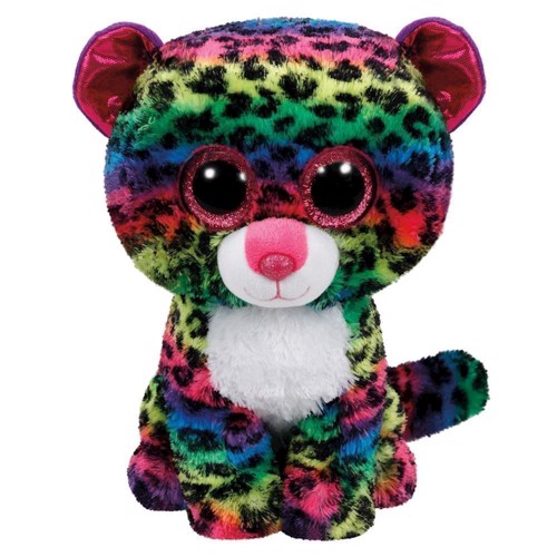 Image of   Ty Beanie Buddy Hug Leopard-Dotty