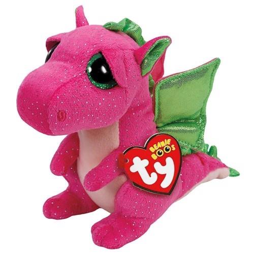 Image of   Ty Beanie Boo Hug Dragon-Darla