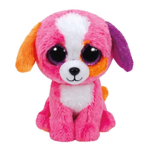Image of   Ty Beanie Boo Plush Dog - Precious, 15cm