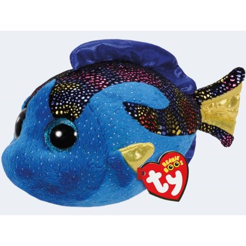 Image of   Ty bamse fisken Aqua 15cm
