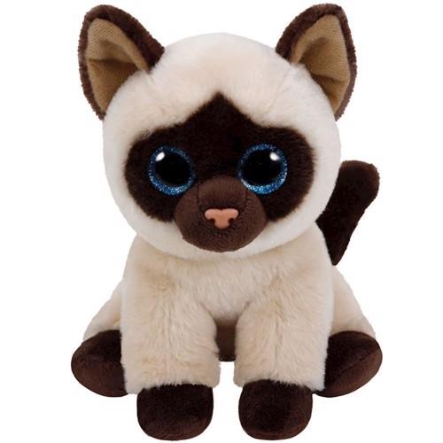Image of   Ty Classic Plush Siamese Cat-Jaden