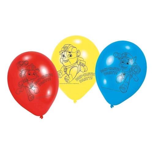 Paw Patrol balloner 6 stk