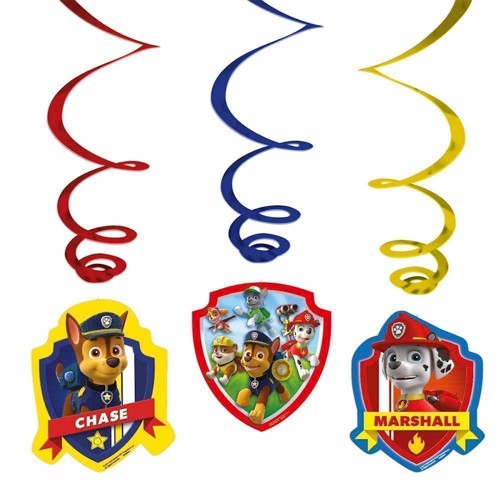 Paw Patrol fest dekorationer