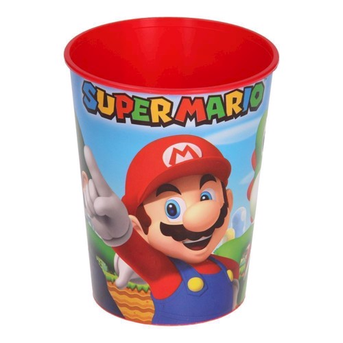 Image of Super Mario Plastik Krus (0013051595708)