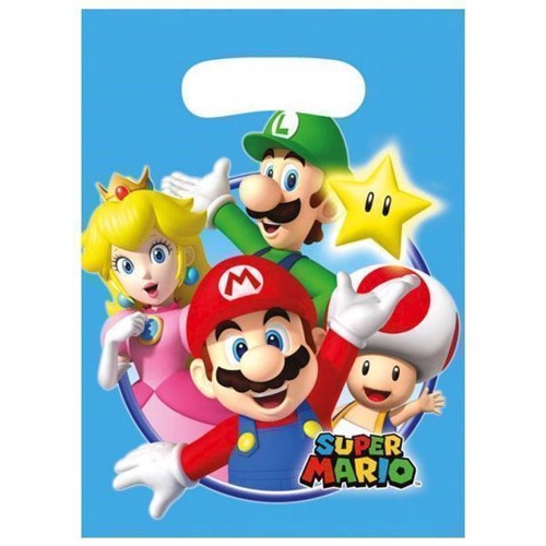 Image of Super Mario Slikposer, 8 stk. (0013051695569)