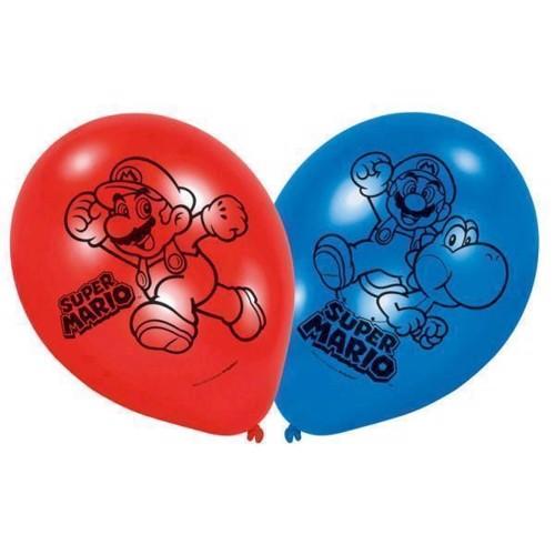 Super Mario Balloner, 6 stk