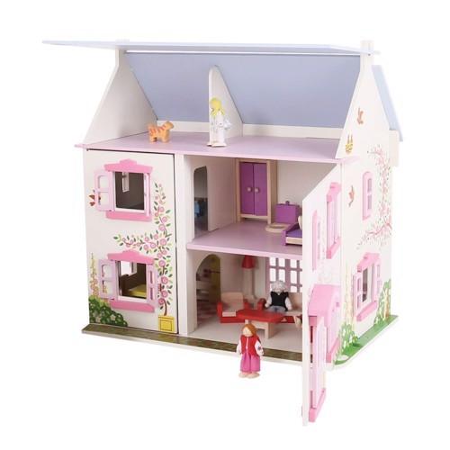Image of   Dukkehus, Trædukkehus, Pink