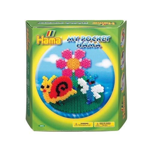Image of   My Pocket Hama perlesæt med forår, 1000 stk