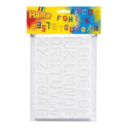 Image of Hama 2 perleplader, tal og bogstaver