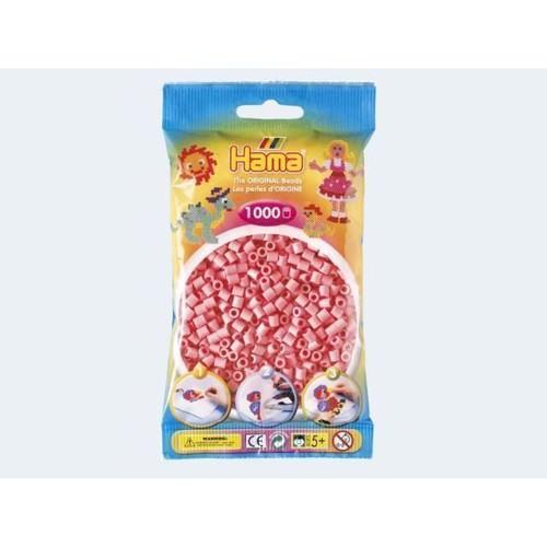 Image of   Hama perler lyserød 1000 stk