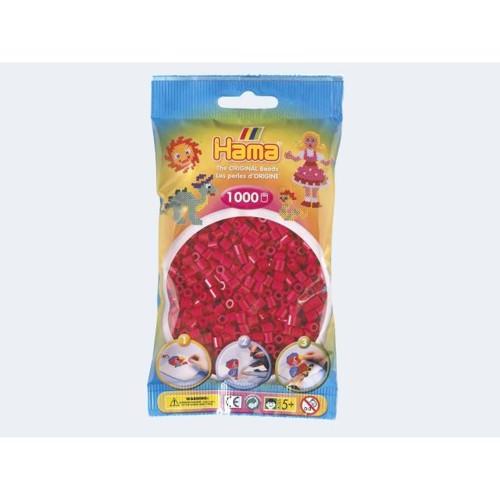 Image of   Hama perler varm rød 1000 stk