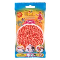 Hama Ironing beads-Red Pastel (044), 1000pcs.