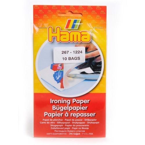 Image of   Hama Perler Stryge Papir