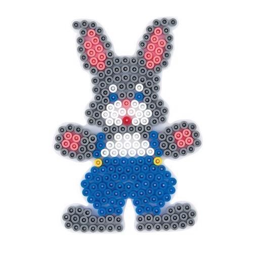 Image of   Hama perleplade kanin