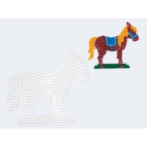 Image of   Hama perleplade hest