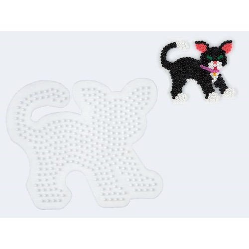 Image of   Hama perleplade kat
