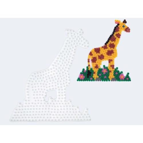 Image of   Hama perleplade giraf