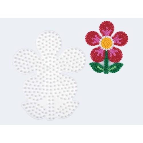 Image of   Hama perleplade blomst