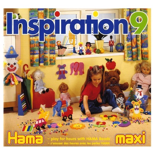 Image of Hama inspirationsbog nr. 9 (0028178399092)