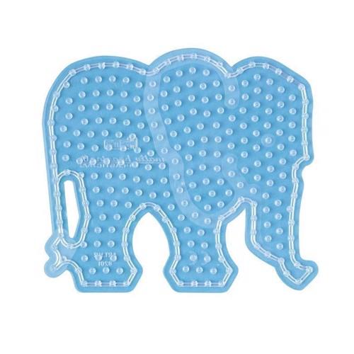 Image of   Hama maxi perleplade, elefant