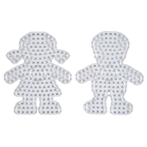 Image of Hama Maxi perleplader, pige og dreng