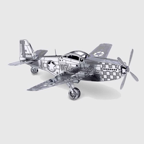 Image of Metal Earth Mustang P-51 (0032309010039)