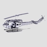 Metal Earth Helicopter UH-1 Huey