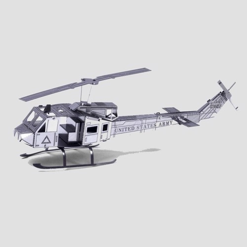 Image of Metal Earth Helicopter UH-1 Huey (0032309010114)