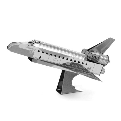 Image of Metal Earth Space Shuttle Discovery (0032309010152)