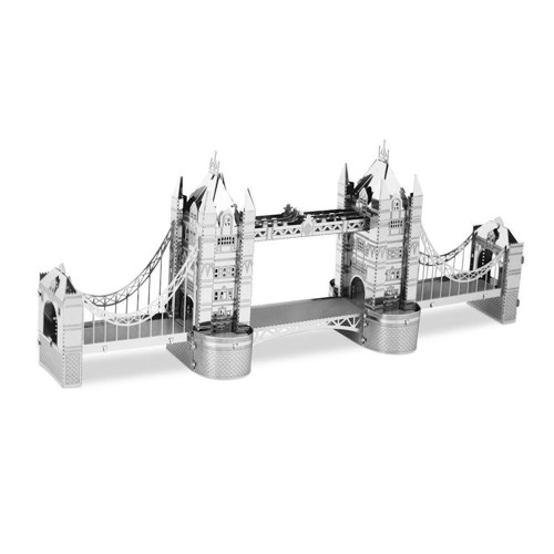 Image of Metal Earth London Tower Bridge Silver Edition (0032309010220)