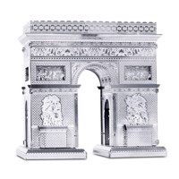 Metal Earth Arc de Triomphe Silver Edition