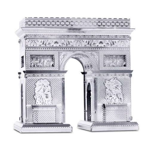 Image of Metal Earth Arc de Triomphe Silver Edition (0032309010237)