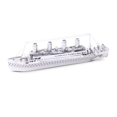 Image of Metal Earth Titanic Ship Silver Edition (0032309010305)