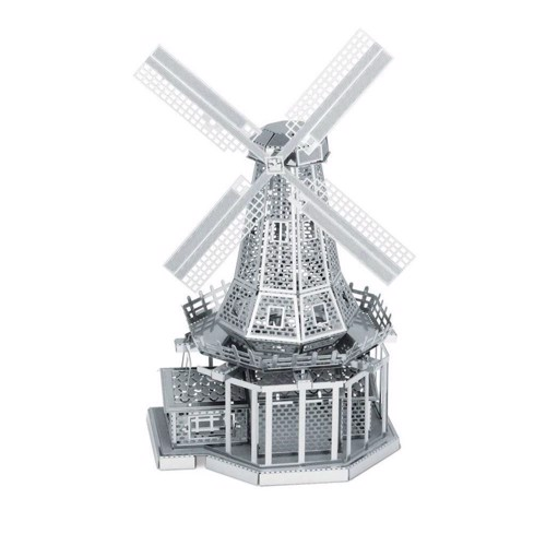 Image of Metal Earth Windmill Silver Edition (0032309010381)