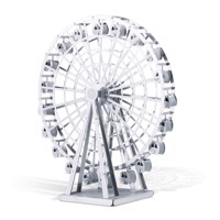 Metal Earth Ferris Wheel Silver Edition