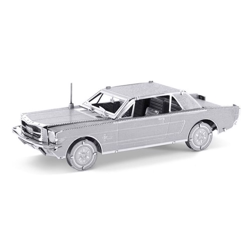 Image of Metal Earth 1965 Ford Mustang Coupe Silver Edition (0032309010565)