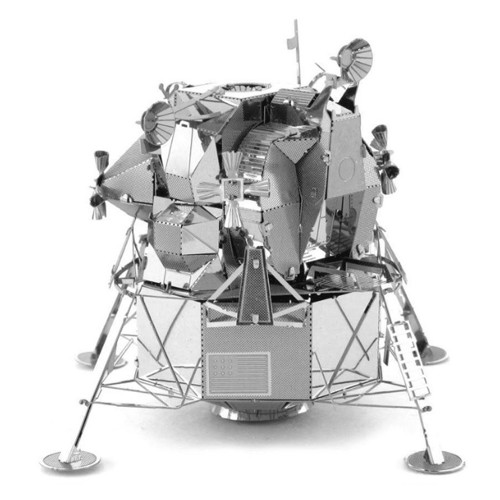 Image of Metal Earth Apollo Lunar Module Silver Edition (0032309010787)