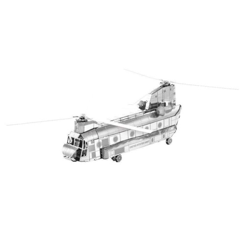 Image of Metal Earth CH-47 Chinook Silver Edition (0032309010848)