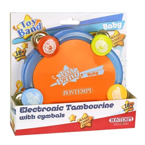 Image of Bontempi Tambourine Electric (0047663062532)