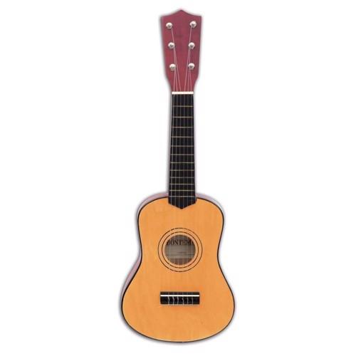 Image of   Bontempi Wooden Guitar, 55cm