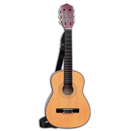 Image of   Bontempi Wooden Guitar with Bag