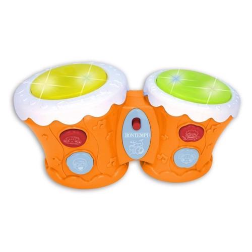 Image of   Bontempi, bongo trommer med lys og lyd